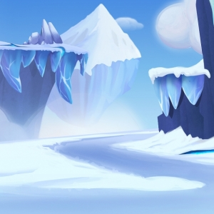 fight_screen_HD_cliffside_snowBG